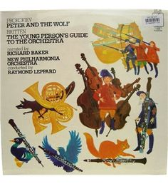 Peter And The Wolf (Prokofiev)/ The Young Person's Guide To The Orchestra (Britten) New Philharmonia Orchestra - CFP 185 | Oxfam GB | Shop
