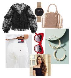 Designer Clothes, Shoes & Bags for Women Daniel Wellington, Tommy Hilfiger, Anthropologie, Louis Vuitton, Shoe Bag, Polyvore, Stuff To Buy, Shopping, Shoes