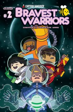 "Comic - Bravest Warriors (Zack Sterling Cover) From Adventure Time Creator Pendleton Ward Comes The New Series ""Bravest Warriors"" Soon To Be A Comic From BOOM! Pendleton Ward, Cartoon Posters, Cartoons, Cartoon Art, Person Drawing, Warrior 3, Bravest Warriors, Adventure Time Anime, Nerd"