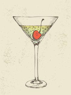 Retro cocktail design vector set 07 - https://gooloc.com/retro-cocktail-design-vector-set-07/?utm_source=PN&utm_medium=gooloc77%40gmail.com&utm_campaign=SNAP%2Bfrom%2BGooLoc