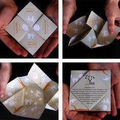 Origami-flyer : studio copernicus