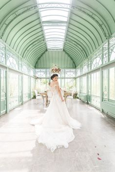 Wedding Day Bridal Portraits in a Green House — Indianapolis Wedding Photographer Greenhouse Wedding, Diy Greenhouse, Bride And Groom Images, Wedding Photos, Wedding Day, Dress Out, Bridal Portraits, Engagement Couple, Wedding Dresses