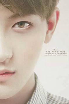 Are the boys endorsing coloured lenses or something!? First Baek, then Lay, now Tao. Anyhu, ♡ing the look!
