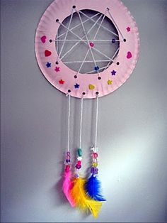 Kids DIY Dream Catcher Craft