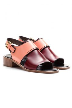 15 Colorful Sandals You'll Wear All Summer #refinery29 http://www.refinery29.com/color-block-sandals#slide2