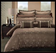 Royal Hotel Collection Janet 7 Pieces Taupe/Beige King/ Cal King Duvet Cover Set sheetsnthings http://www.amazon.com/dp/B0049GXW9W/ref=cm_sw_r_pi_dp_gTwfvb184KMQW