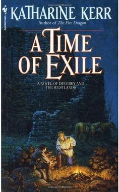 A Time of Exile by Katharine Kerr introduces Rhodry, a half-elven, who is faced with some difficult choices about embracing his elf heritage.