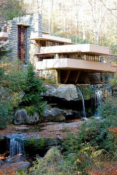 Tour Frank Lloyd Wright's Falling Water