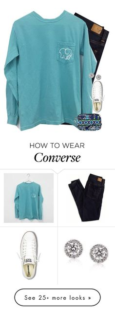 """Go follow @legitmaddywill right now!!!"" by mac-moses on Polyvore featuring American Eagle Outfitters, Vera Bradley, Converse and Mark Broumand"