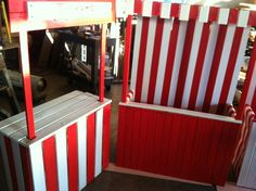 fondos infantiles Carnival booths and Ticket booth custom handmade for birthday part, photo prop, school, church etc Carnival Booths, Carnival Tickets, Carnival Decorations, Diy Carnival, Hawaiian Party Decorations, Carnival Themed Party, Carnival Themes, Circus Theme, Carnival Parties