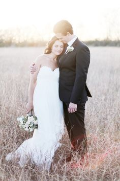 sweet field portrait | Feather & Twine #wedding