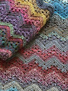 Ravelry: 6-Day Boom Blanket pattern by Betty McKnit