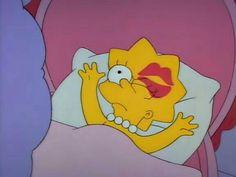 My girl's every morning. Cartoon Memes, Cartoon Tv, Cute Cartoon, Cartoon Characters, Fictional Characters, Image Simpson, Bart Simpson, Simpsons Simpsons, Simpsons Episodes