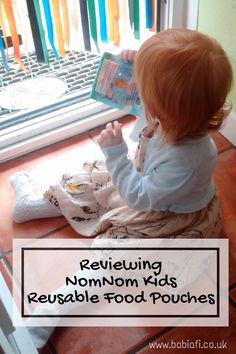 Reviewing @nomnomkids Reusable Food Pouches