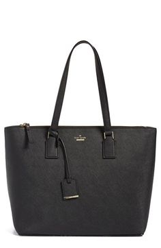 Free shipping and returns on kate spade new york 'cameron street - lucie' tote at Nordstrom.com. Crosshatched leather and a classic silhouette make the lucie tote from kate spade a must-have for your wardrobe. This smartly designed bag features a spacious interior and plenty of pockets for organizational ease and the top handles further the sophisticated appeal.