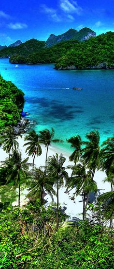 This beautiful island beach in Thailand | places to #getlucky | curated for your pleasure by luckybloke.com
