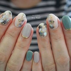 """Excellent """"gel nail designs for fall"""" detail is offered on our website. Excellent gel nail designs for fall detail is offered on our website. Chic Nails, Stylish Nails, Trendy Nails, Korean Nail Art, Korean Nails, Ivy Nails, November Nails, Japanese Nails, Manicure E Pedicure"""