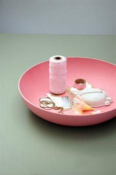 Tutti Frutti   mega bowl   lollipop pink  #zuperzozial #biodegradable #capventure #dutchdesign #product #megabowl #tuttifrutti
