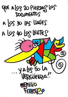 Emilio Ferrero Humor, Image, Block Prints, Lol Quotes, Funny Images, Quotes Motivation, Positive Quotes, Funny, Crazy Art