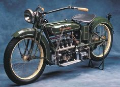 Cleveland four-cylinder motorcycle