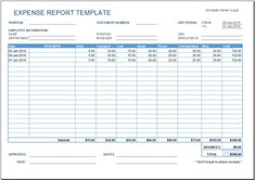 Expense Reimbursement Template Alluring 3 Free Business Tracking Printable Templates Including A Business .