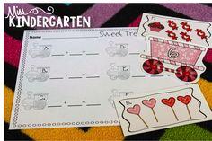 Sweet Treats Train (from Miss Kindergarten)