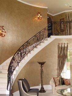 Wall treatments, faux finishing, decorative painting, venetian plaster, textured finishes, harlaquin pattern, diamonds, stripes, stone block