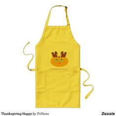 Thanksgiving Happy Long Apron