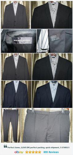 Ralph Lauren Black Label Gray & Blue Sharkskin Suit 44R W 36 37 38x33 Lot of 2    eBay http://www.ebay.com/itm/Ralph-Lauren-Black-Label-Gray-amp-Blue-Sharkskin-Suit-44R-W-36-37-38x33-Lot-of-2-/162412502850?ssPageName=STRK:MESE:IT