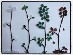 Seasons in sea glass Sea Glass, Seasons, Beach, Plants, Design, The Beach, Seasons Of The Year, Flora, Plant