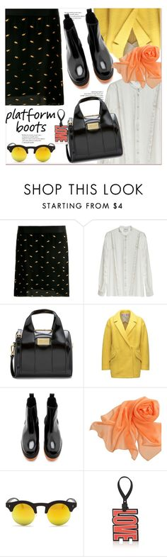 """""""Kickin' It: Platform Boots"""" by paculi ❤ liked on Polyvore featuring Sunny Rebel, Givenchy, StreetStyle, PlatformBoots and casul"""