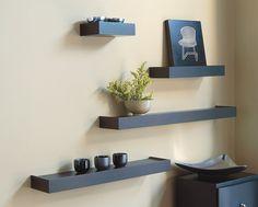 modern wall mounted shelves - Google Search