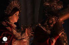 """""""Yo hago todas las cosas nuevas...""""  V.I. Jesús Nazareno y Virgen de Dolores Infantil parroquia San Nicolás Quetzaltenango"""