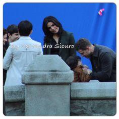 "Josh, Raphael, Lana, Ginni, Jared and Emilie - Behind the scenes - 5 * 1 ""Dark Swan"" - 14 July 2015"