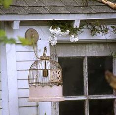 Chateau De Fleurs: The Amazingly Talented Sue Balmforth of Bountiful, Venice Beach CA. BirdCage...