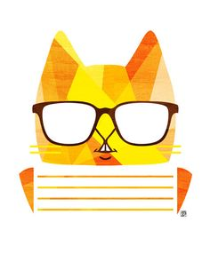 Catherine Cat Orange