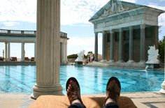 Hearst Castle pool - day trip from LA: http://travelblog.viator.com/santa-barbara-solvang-and-hearst-castle-day-trip-from-los-angeles/ #travel