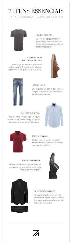 Essenciais do guarda-roupa masculino por Ricardo Almeida - www.ricardoalmeida.com.br Diy Moda, Capsule Wardrobe, Editorial Fashion, Mens Fashion, Man Style, Boys, Outfits, Inspiration, Shopping