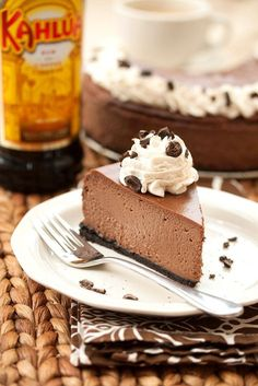 Chocolate Cappuccino Cheesecake | Tide and Thyme