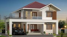 10 Glorious Tricks: Contemporary Facade Architecture contemporary home plans.Con… 10 Glorious Tricks: Contemporary Facade Architecture contemporary home plans. 2 Storey House Design, Bungalow House Design, House Front Design, Modern Contemporary Homes, Contemporary Architecture, Amazing Architecture, Facade Architecture, Contemporary Bedroom, Contemporary Furniture