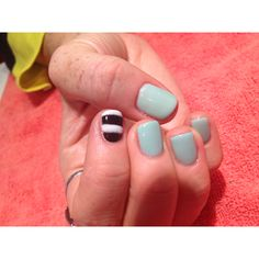 Gel nails by Erin hart at the nail lounge in costa mesa