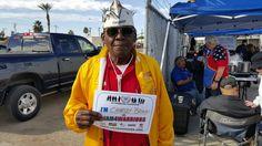 Charley Brown says #IAM4WARRIORS