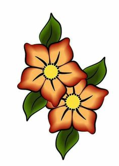 FLORES AMARILLO DORADO Y MARRON CON HOJAS VERDES Beading Patterns, Flower Patterns, Embroidery Patterns, Art Patterns, Flower Tattoo Designs, Flower Designs, Doodle Art, Rock Flowers, Pyrography Patterns