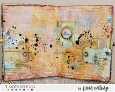 Art journal by Fiona Paltridge
