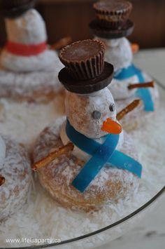 donut snowmen 2