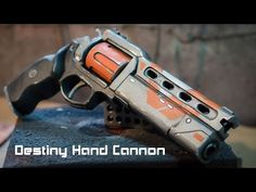 Tutorial for my Destiny Hand Cannon foam prop replica build! Check out the video and learn how to make your own Destiny weapon out of EVA foam! Cosplay Tutorial, Cosplay Diy, Cosplay Outfits, Cosplay Ideas, Costume Ideas, Destiny Hand Cannon, Destiny Game, Destiny Costume, Destiny Cosplay
