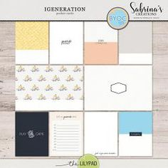 iGeneration   Pocket Cards Pocket Cards, Digital Scrapbooking, Notebook, App, Writing, Learning, Collection, Journaling, Store