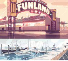 Mais artes de Steven Universe, da Cartoon Network | THECAB - The Concept Art…