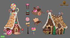 Cake house by Gimaldinov.deviantart.com on @deviantART