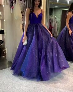 Buy Sparkly Dark Royal Blue Spaghetti Straps V Neck A line Prom Dresses, Formal Dress online.Shop short long ombre prom, homecoming, bridesmaid evening dresses at Couture Candy Cocktail party dresses, formal ball gowns in ombre colors. Straps Prom Dresses, A Line Prom Dresses, Dance Dresses, Ball Dresses, Dresses Dresses, Quinceanera Dresses, Dress Prom, Prom Dreses, Fashion Dresses